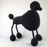 "MonkeyBiz Exhibition Black Poodle ""Abe"""