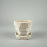 Vintage White McCoy Planter