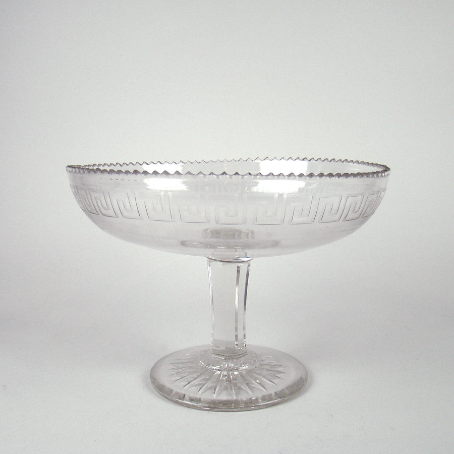 Tiara Indiana Glass Presentation Bowl