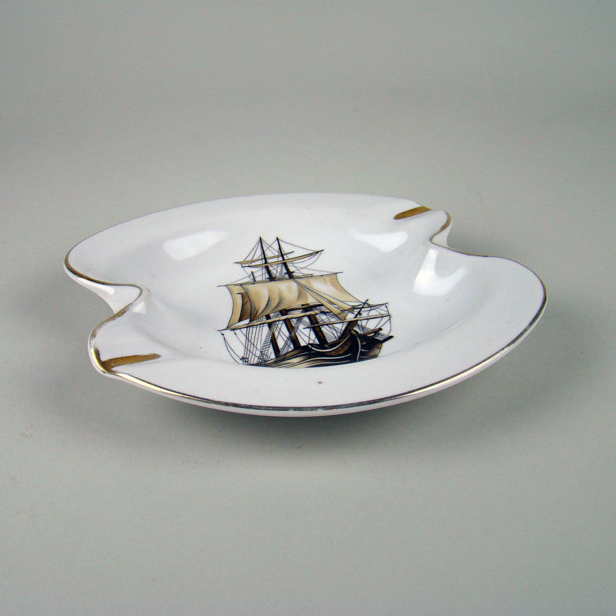 Clipper Ashtray Porcelain