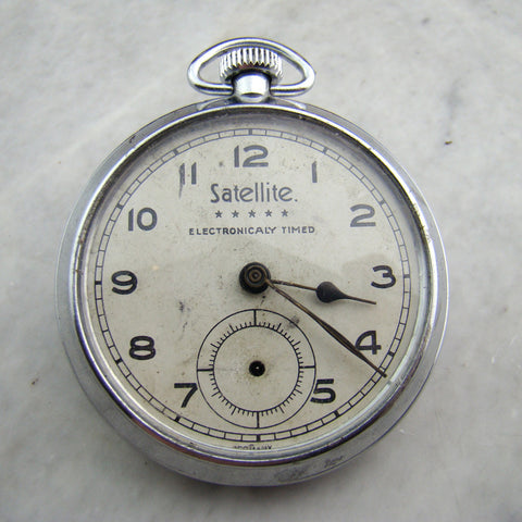 Vintage Satellite Pocket Watch