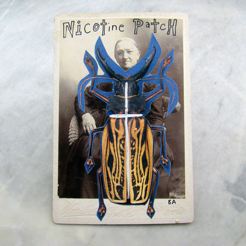 Nicotine Patch Cabinet Card