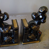 Japanese Red Ware Poodle Bookends 2
