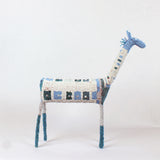 MonkeyBiz XXL Animal 007 Blue & White Giraffe
