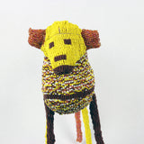 MonkeyBiz Baboon Size 4 Yellow & Brown Checker Board