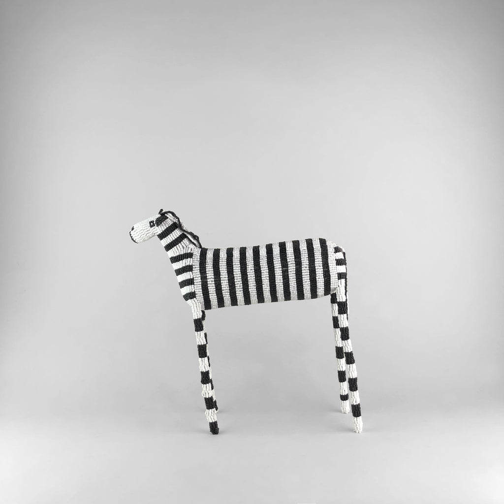MonkeyBiz 006 XL B&W Striped Zebra