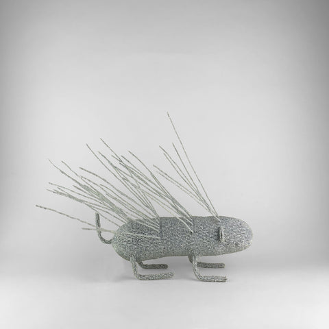 MonkeyBiz Medium Porcupine Solid Silver