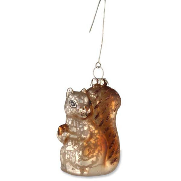 Woodland Critter Ornament | Squirrel