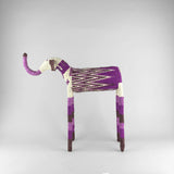 MonkeyBiz 007 Purple Zig Zag Elephant