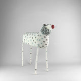 MonkeyBiz 007 White Polka Dot Lion