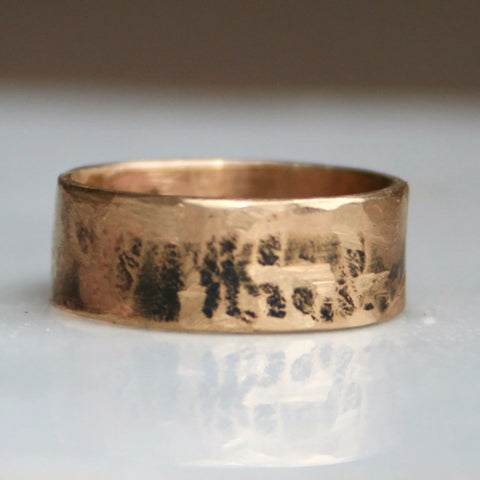 14K Gold Cigar Band