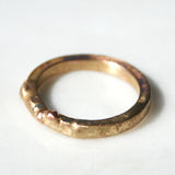 14K Heavy Gold Band