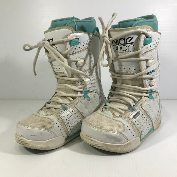 Ride Orion Kids Snowboard Boots - Size 6 - Pre-owned (3F383J)