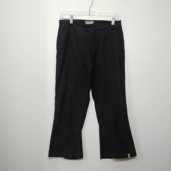 Royal Robbins Khaki Capris - Women's 6 - Pre-owned (3UJ3B1)