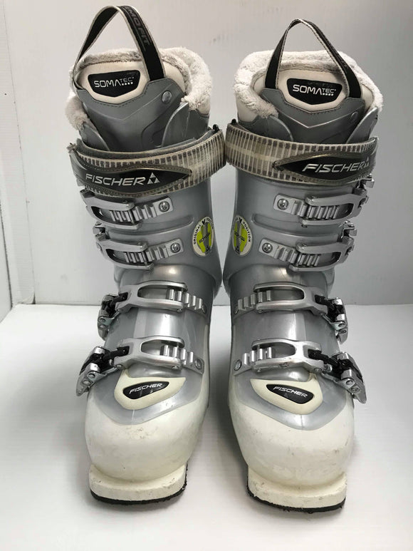 Fischer my Style 75 DH Ski Boots - Women 23.5 - Pre-Owned (E93JDQ)