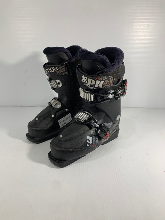 Salomon SPK Downhill Ski Boot - Size 24 - Pre-owned (A1CRUG)
