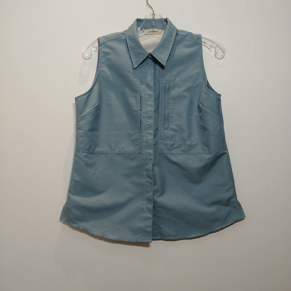 Segments Button Down Vest - Women's Medium - Pre-owned (ASVFTH-B02)