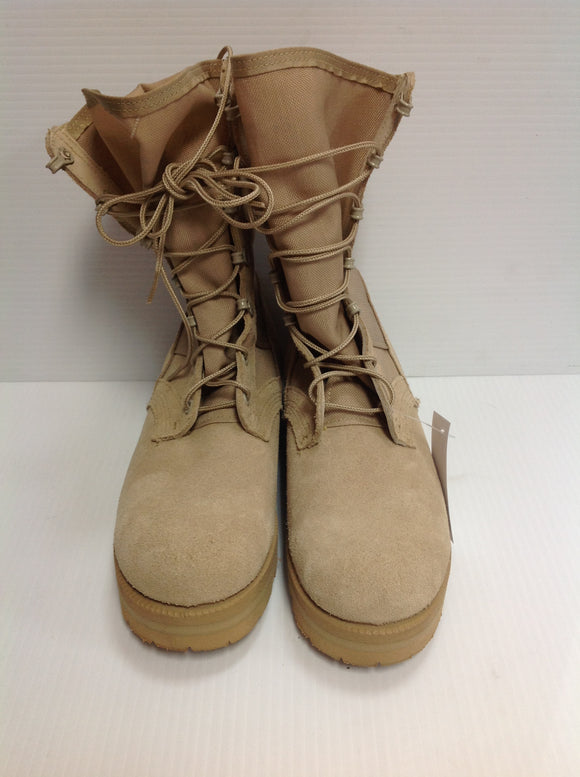 Wellco Dessert Tan Hot Weather Army Combat Boots (SKU: WJ3TSD) -Used