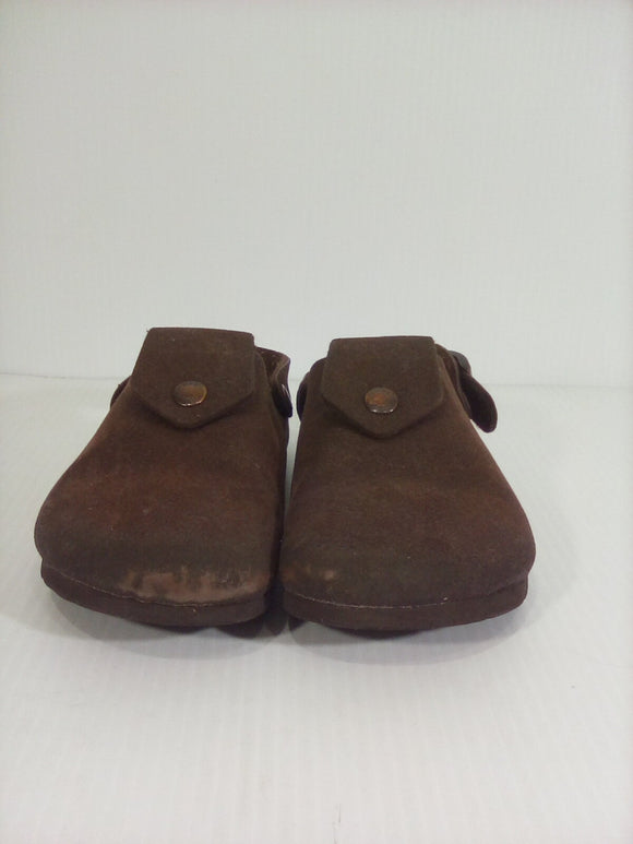 Birkenstock Closed-Toe Birkis- Size 2/2.5-Pre-Owned(N32YAN)
