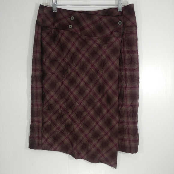 Royal Robbins Crimped Flannel Skirt - Women's 8 - NEW (Q70825-B09)