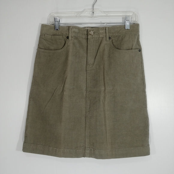 Mountain Khakis Canyon Cord Skirt - Women's 6 - New (ZUUA7B - B09)