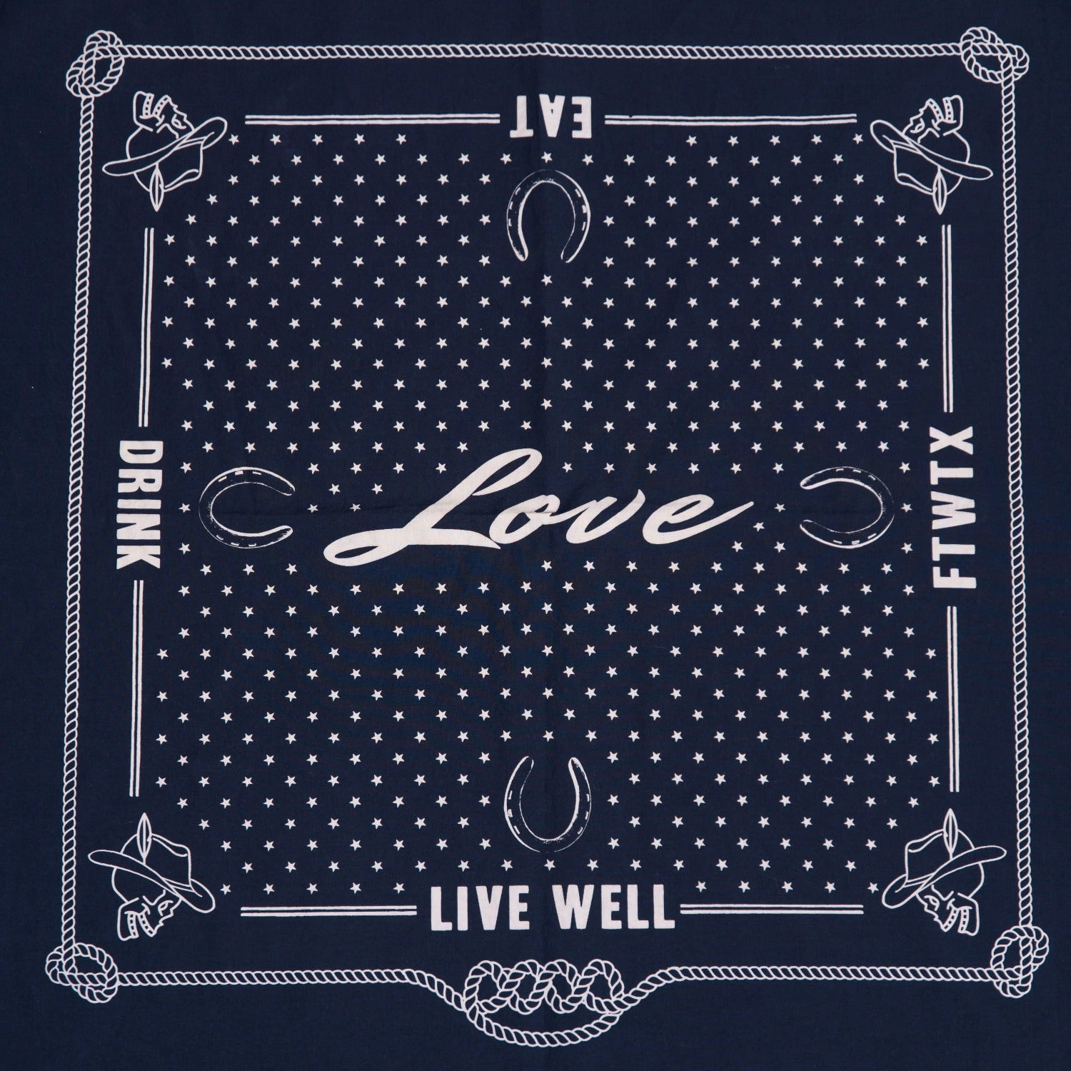 Love Collection - Western Bandana - Marc Nelson Denim