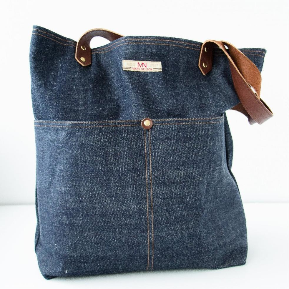 Denim Tote - Marc Nelson Denim