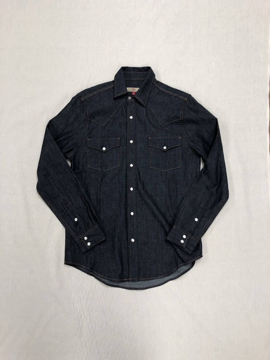 Denim Shirt - Black - Marc Nelson Denim
