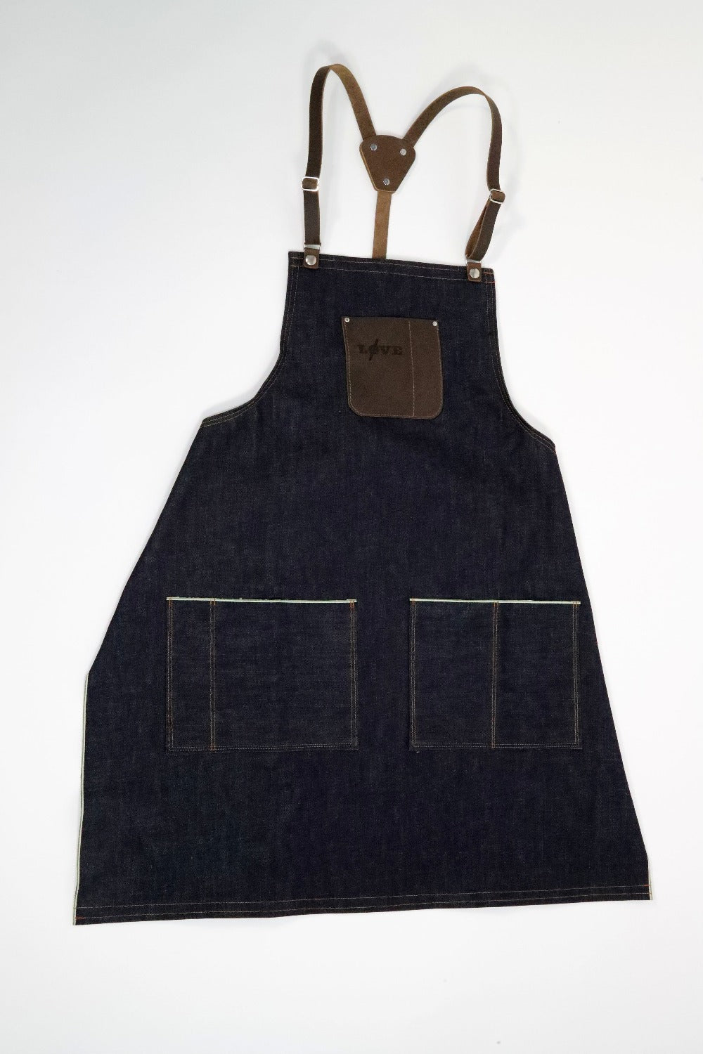 Love Collection Apron - Marc Nelson Denim