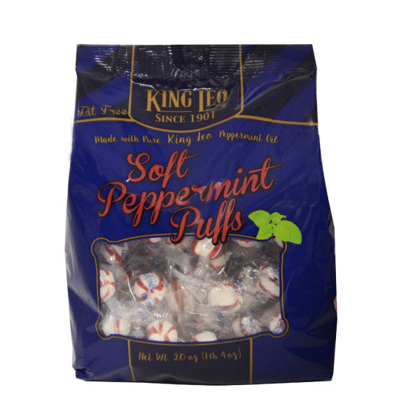 King Leo Soft Peppermint Puff 20oz. Bag