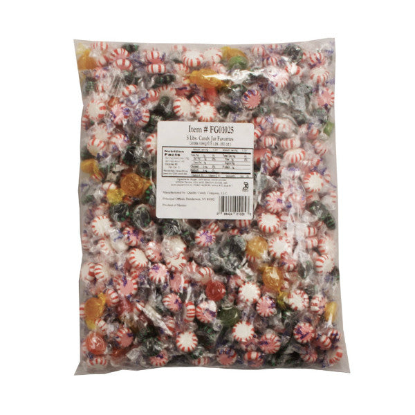 Candy Jar Assorted Mix Candy - 5lb bag (Appr. 450pcs)