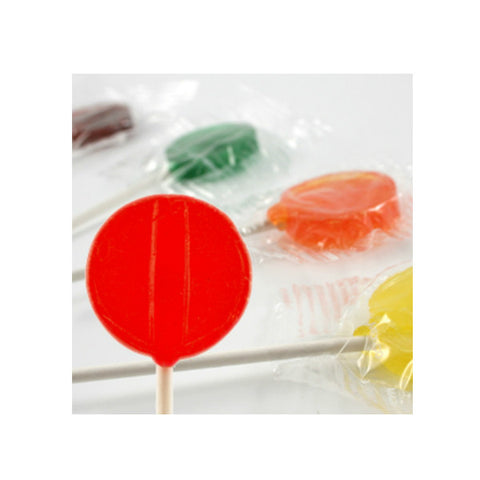 Assorted Fruit Flavored Lollipops Approx 275 Ct (5lb bag)