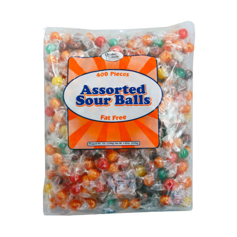 Sour Fruit Candy Balls (5lb bag - 400 count)