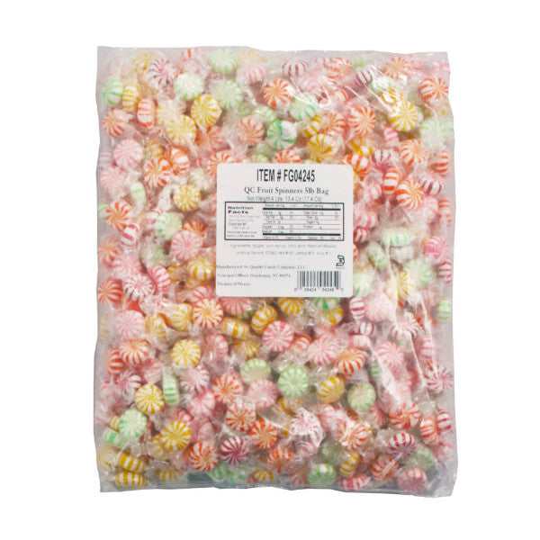 Assorted Fruit Flavored Starlights 400 Count (5lb bag)