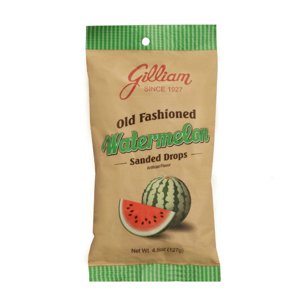 Gilliam Watermelon Flavored Sanded Drops (4.5 oz Bag)