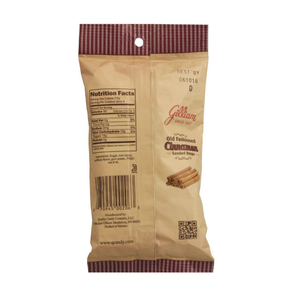Gilliam Cinnamon Stick Flavored Sanded Drops (4.5 oz Bag)