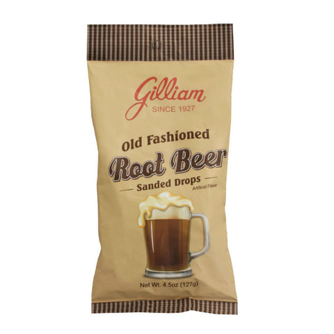 Gilliam Root Beer Flavored Sanded Drops (4.5 oz Bag)