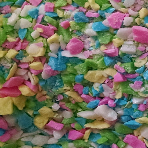 "Crushed Gilliam ""Medium"" Vanilla Confetti Candy - 5lb Bag @ $22 - Minimum order is 2/5lb Bags"