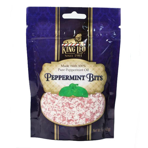 Crushed King Leo Peppermint Candy  (5 oz Bag)