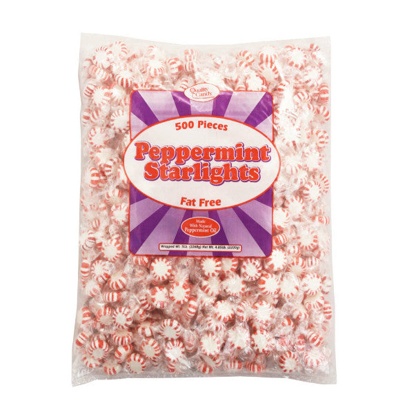 Classic Red & White Peppermint Starlight Candy (5 lbs)