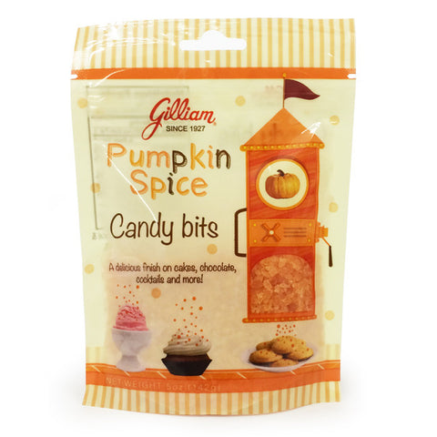 Pumpkin Spice Candy Bits (5 oz Bag)