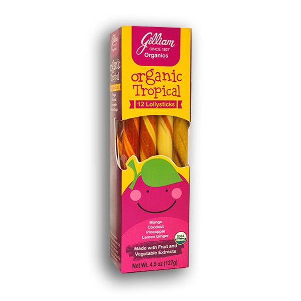 Gilliam Organics: Tropical Lollysticks
