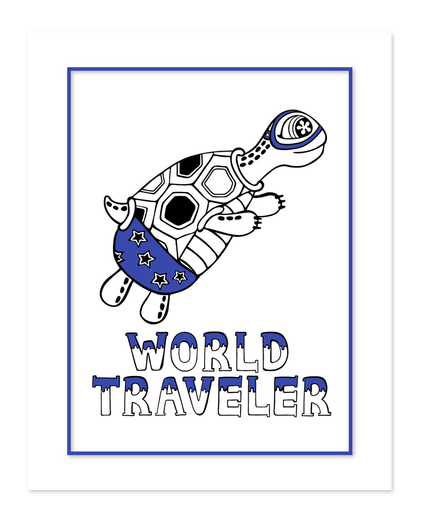 The world traveler