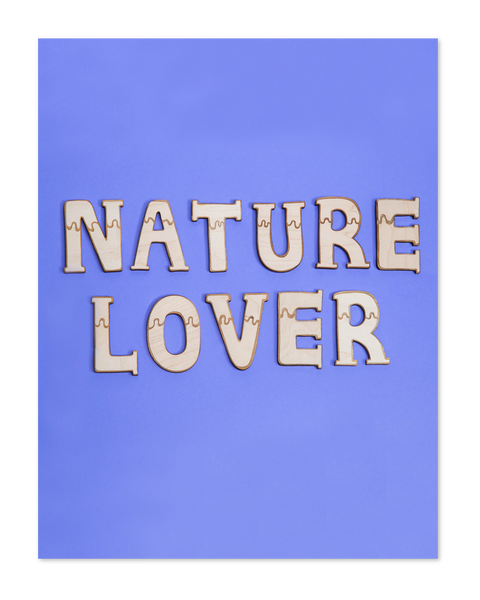 Nature Lover letters