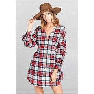 Tailgater Flannel Dress