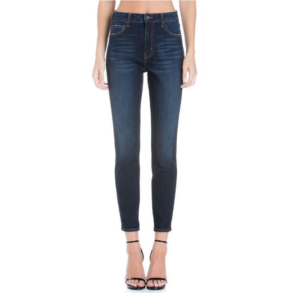 High Rise Mom Fit Skinny Jeans