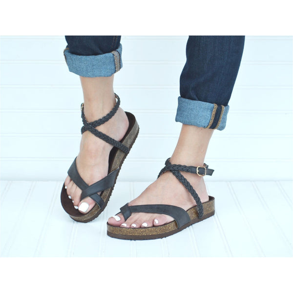 Estelle Sandals in Black