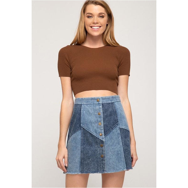 Patch Things Up Skirt