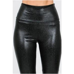 Strike First Snakeskin Leggings