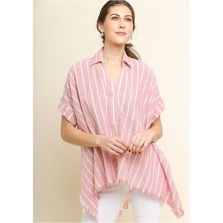 f1b9bcdab Morning Sun Top In Rose – A Little Bird Boutique